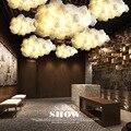 Современный декор тучи люстра E27 Потолочный подвесной светильник Led современная люстра освещение блеск для магазина ресторана магазина