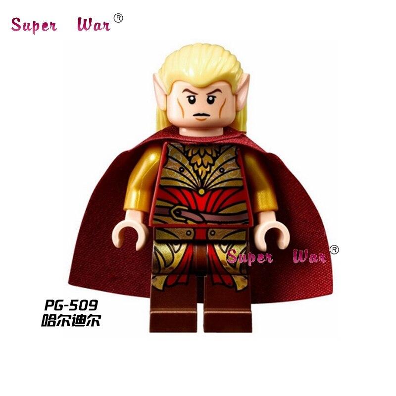 20pcs star wars superhero The Hobbit Haldir LOTR movie building blocks action figure bricks model educational diy baby toys
