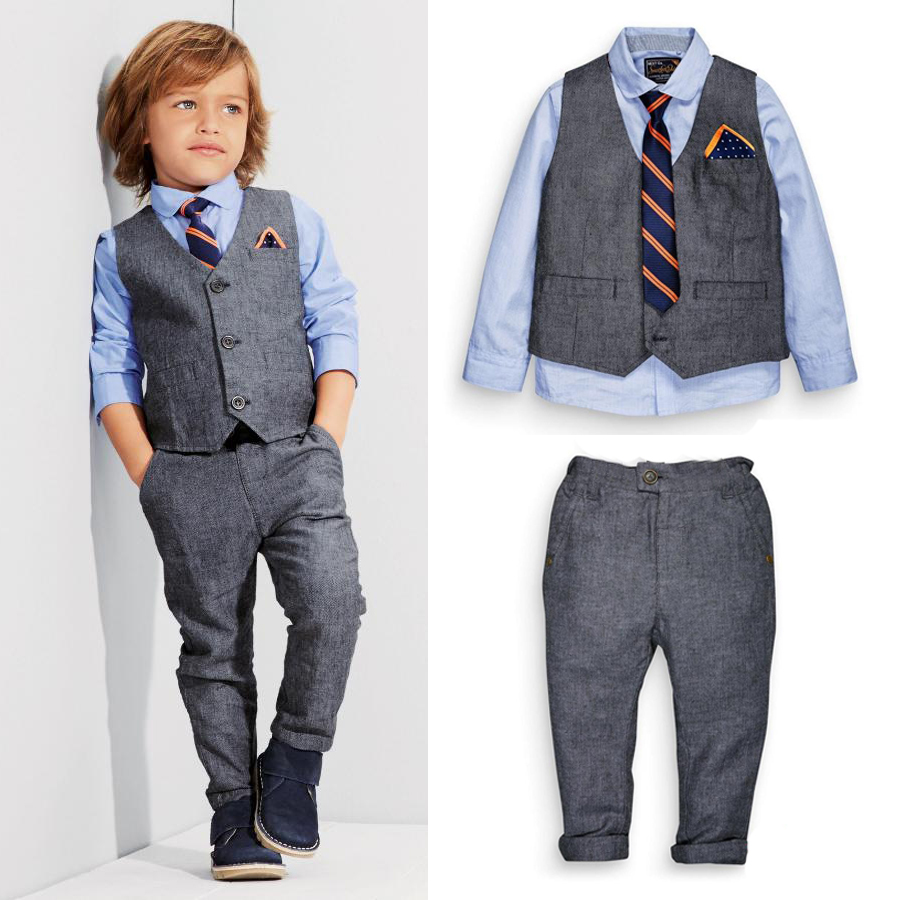 Children Clothing Kids Clothes Boys Clothes Baby Boy Suit Gentleman ...