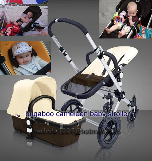 Free Shipping Bugaboo Cameleon Dark Brown Stroller Base Car Seat Adapters