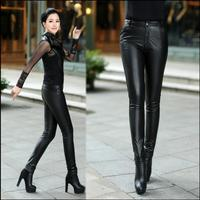 2019 Autumn And Winter Women Genuine leather pants female trousers tight sheepskin genuine leather skinny pants pencil pants