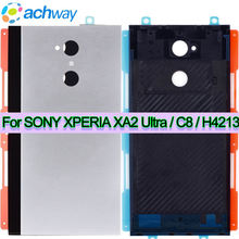 For SONY XPERIA XA2 Ultra Back Battery Cover Case Door For 6.0