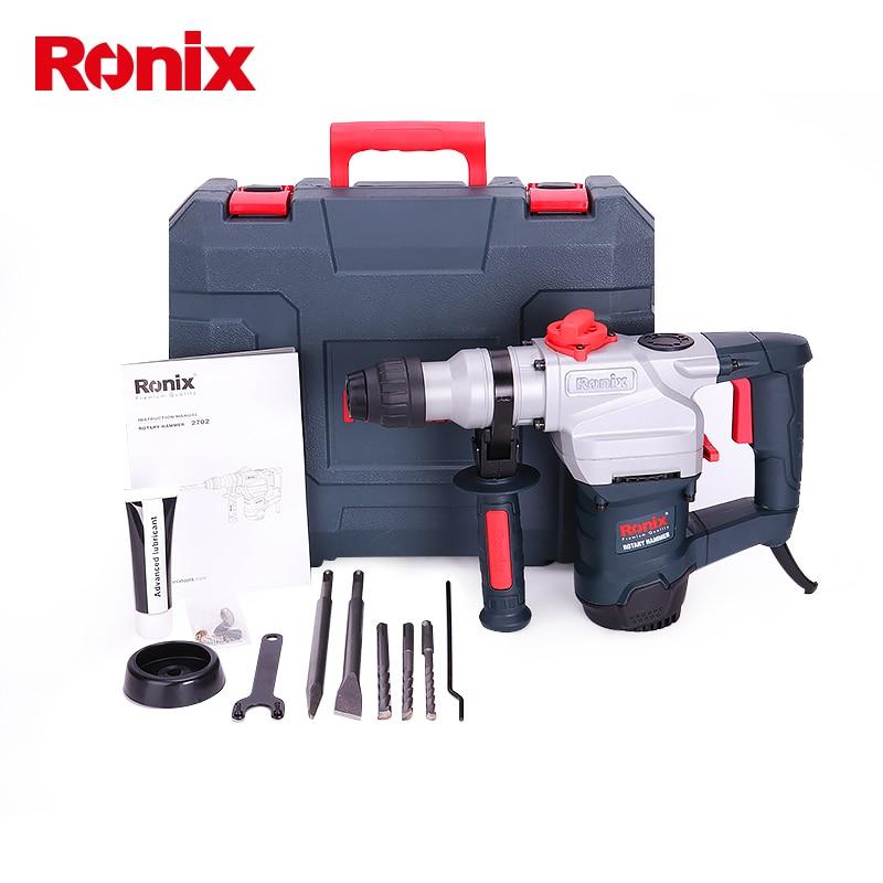 Ronix New Model 2702 1100W Power Tools Rotary Hammer suzhou hammer drill 28mm цена и фото