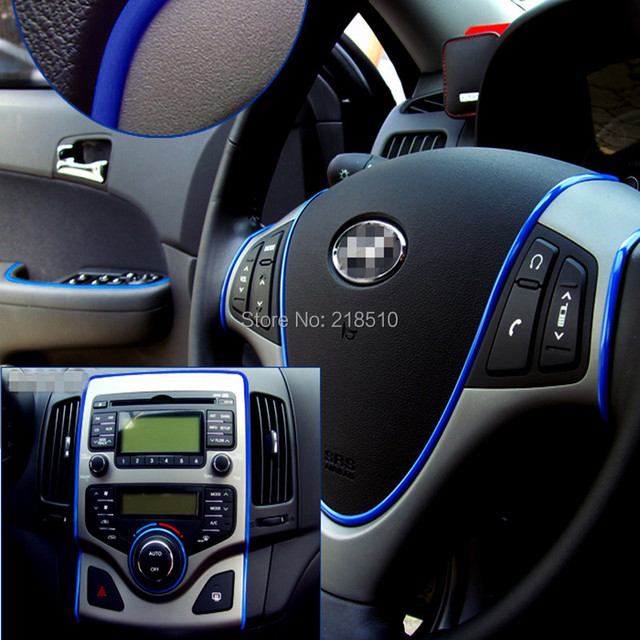 Us 3 26 30 Off 5m Car Auto Decoration Car Sticker Thread Indoor Pater Car Interior Exterior Body Modify Decal 7 Colors Drop Shipping 1pc In Car