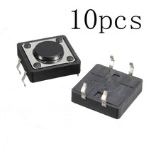 10pcs Quality Mini PCB Momentary Tactile Push Button Switch SPST Used in the fields of elec