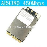 Atheros AR5BXB112 AR9380 dla Appl e mini PCI-E 450 300mbps Wireless-n Dual-Band Połowę Mini Karty 2.4G/5G