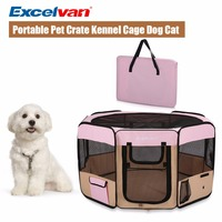 excelvan-dog-carrier-cage-oxford-portable-soft-pet-puppy-tent-kennel-cat-playpen-fabric-foldable-traveling-flight-case-m-l-size