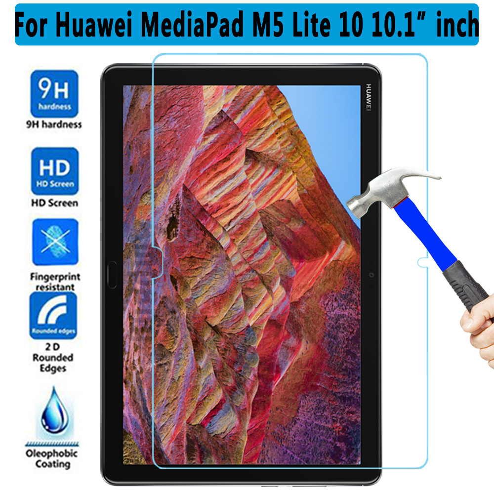 Tempered Glass For Huawei Mediapad M5 Lite 10 10.1