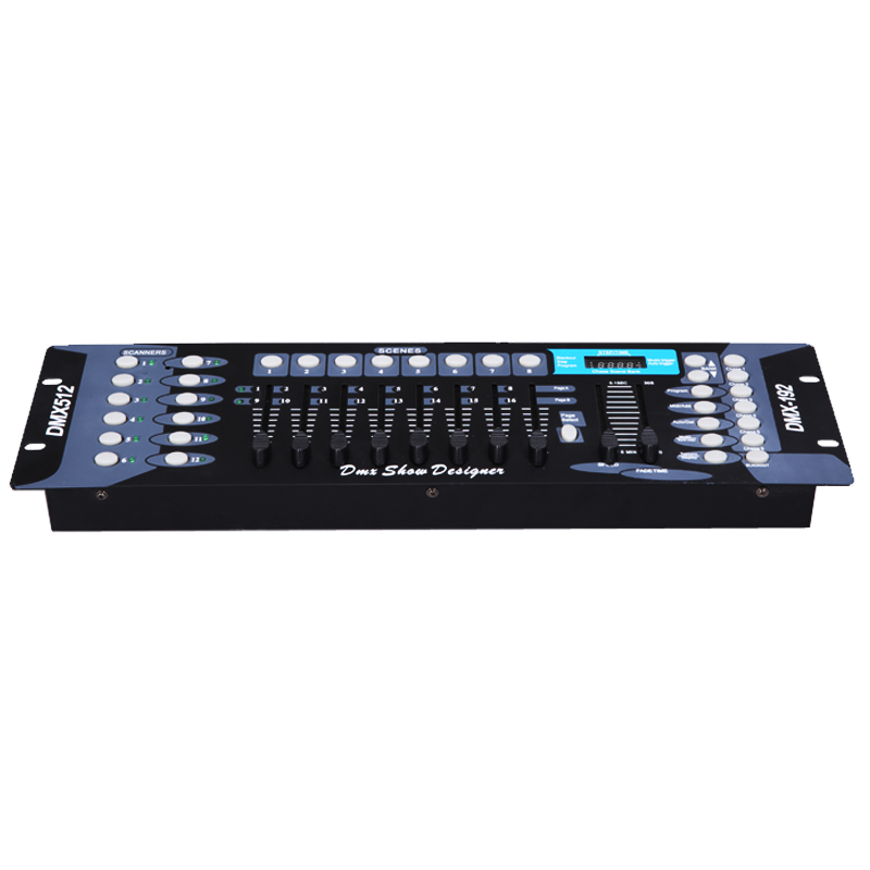 Cheap moving head lighting console 192 dmx dj Light controller 16dmx control channel for stage lights led par disco equipment cheap dj lights cloth wall led flashlights curtain screen pixel7 for dj equipment china