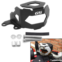 YOWLING GS Laser LOGO Motorcycle Front Oil Cap Fluid Reservoir Tank cap Cover Guards Protector For BMW F800GS F700GS 2013-2016