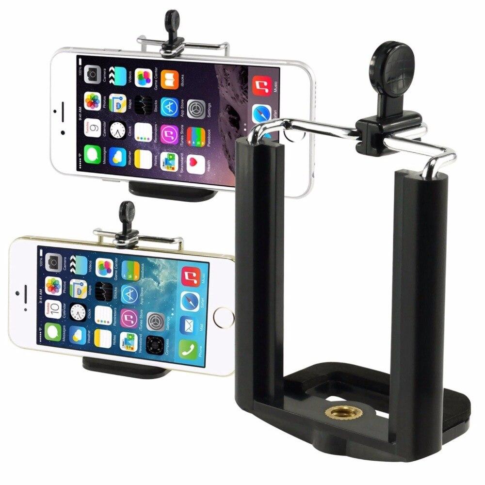 Jerx Универсальный сотовый телефон клип держатель для <font><b>iphone</b></font> 8 <font><b>Plus</b></font> <font><b>7</b></font> 6 6 S 6 <font><b>Plus</b></font> SE 5 Huawei Камера кронштейн смартфон Штатив Адаптер