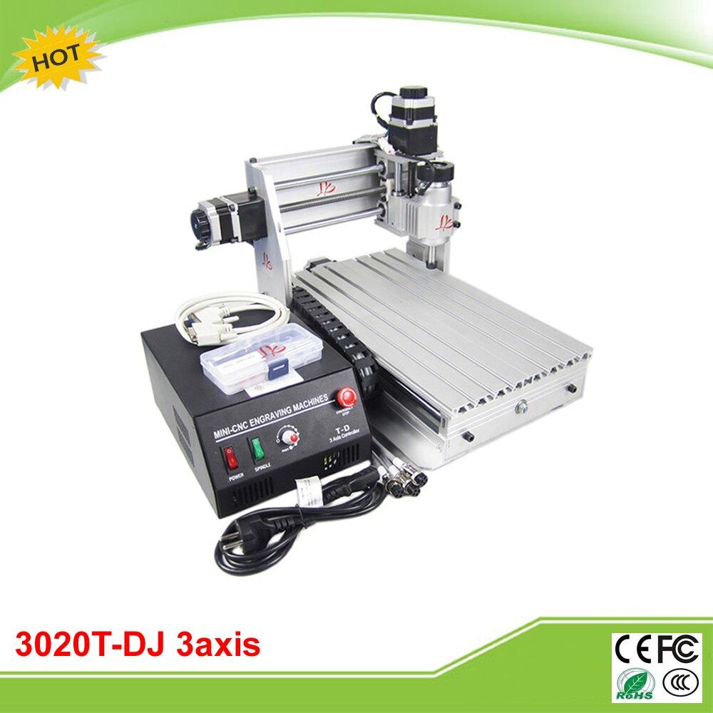 CNC 3020T-DJ mini fraiseuse à CNC mise à niveau de 3020 T