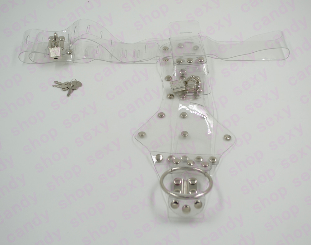Transparent Female Chastity Belt Device For Party With -4718