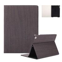 Hạt gỗ Rắn Trường Hợp Đối Với iPad mini 4 7.9 inch Business PU da Trọng Lượng Nhẹ Đầy Đủ Bảo Vệ Smart Cover Case cho iPad mini 4