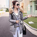 Women Winter Down Coat New 2017 Female Long Parkas Large Fur Collar Jacket Slim Thickening White Duck Down Hooded Outwear Parka