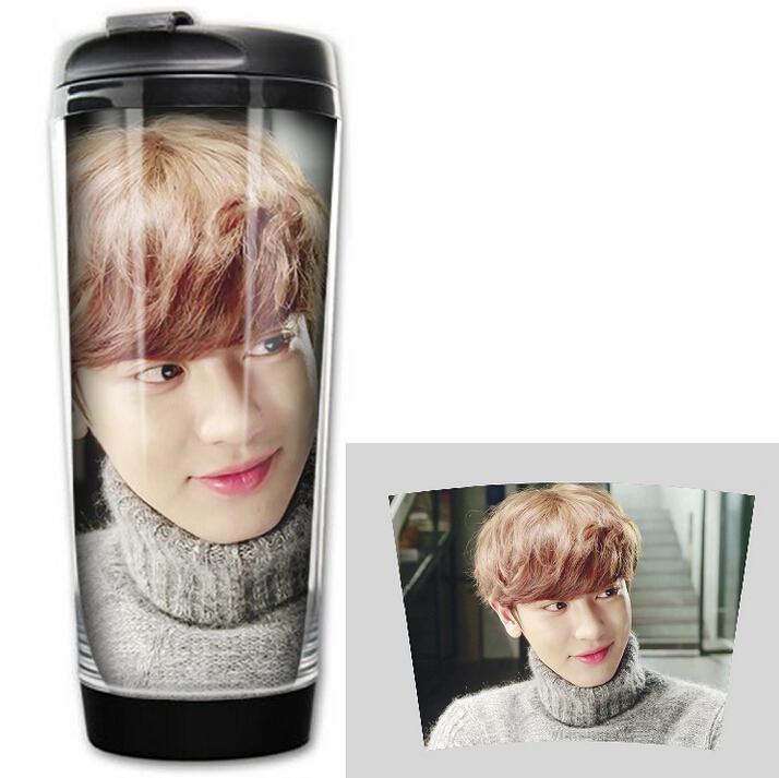 2016 HOT SALE Fashion  drinkware korea style SHINEE INFINITE GOT7 image coffee mug tea cup free shipping 2017 hot sale kpop fashion harajuku bts infinite fisland boyfriend snsd bap tvxq shinee umbrella