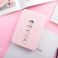 Pink Girl Paperwhite3 Magnet PU Flip Cover For Amazon Kindle Paperwhite 1 2 3 449 558
