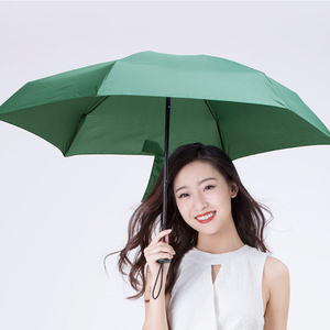 Image 3 - Xiaomi paraguas ultraligero de fibra para sol y lluvia paraguas portátil ultraligero resistente al viento, ultraligero