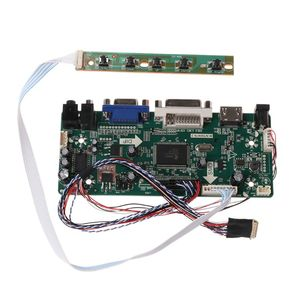 "Image 1 - Controller Board LCD HDMI DVI VGA Audio PC Module Driver DIY Kit 15.6"" Display B156XW02 1366X768 1ch 6/8 bit 40 Pin Panel"