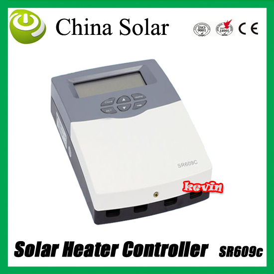 Pressurized System  Solar Water Heater Controller SR609C,110/220V,LCD Screen,2-yrs Guarantee