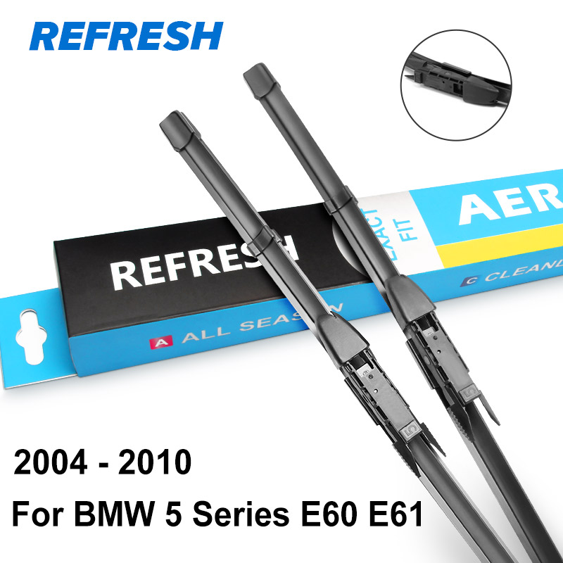 Image 3 - REFRESH Wiper Blades for BMW 5 Series E39 E60 E61 F07 F10 F11 G30 G31 520i 523i 525i 528i 530i 535i 518d 520d 525d 530d 535d-in Windscreen Wipers from Automobiles & Motorcycles
