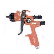 WAERTA 1000C 1.3mm Nozzle Professional Spray Gun Sprayer Paint Air Mini Spray Gun for Painting Cars Aerograph Tool стоимость