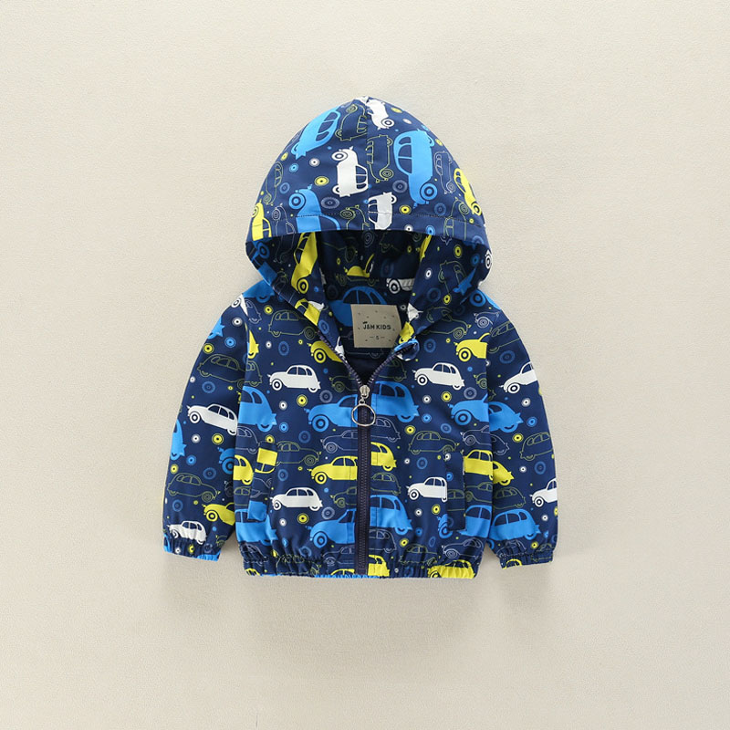 все цены на Cute Dinosaur Spring Children Coat Autumn Kids Jacket Boys Outerwear Coats Active long sleeve thin Boy Clothes Clothing