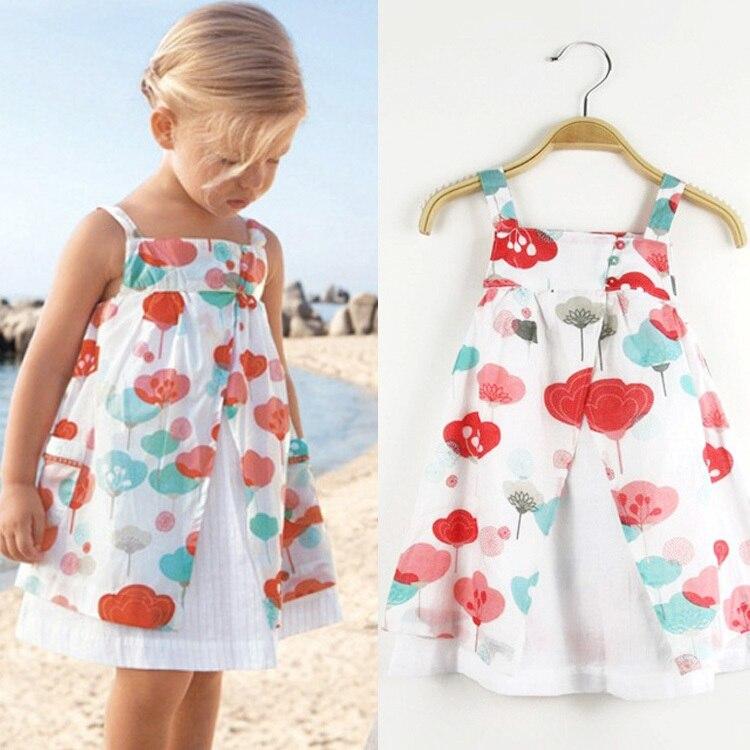 Aliexpress.com : Buy retail cotton 2015 summer little girl dress ...