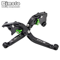 Motorcycle CNC Adjustable Extendable Folding Brake Clutch Levers For For Kawasaki Z750 2007 2008 2009 2010