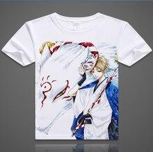 Envío gratis Natsume Yuujinchou Cat Camiseta Anime Natsume Takashi Cosplay Camiseta de La Manera del Algodón Tops Camiseta Para Hombres Mujeres