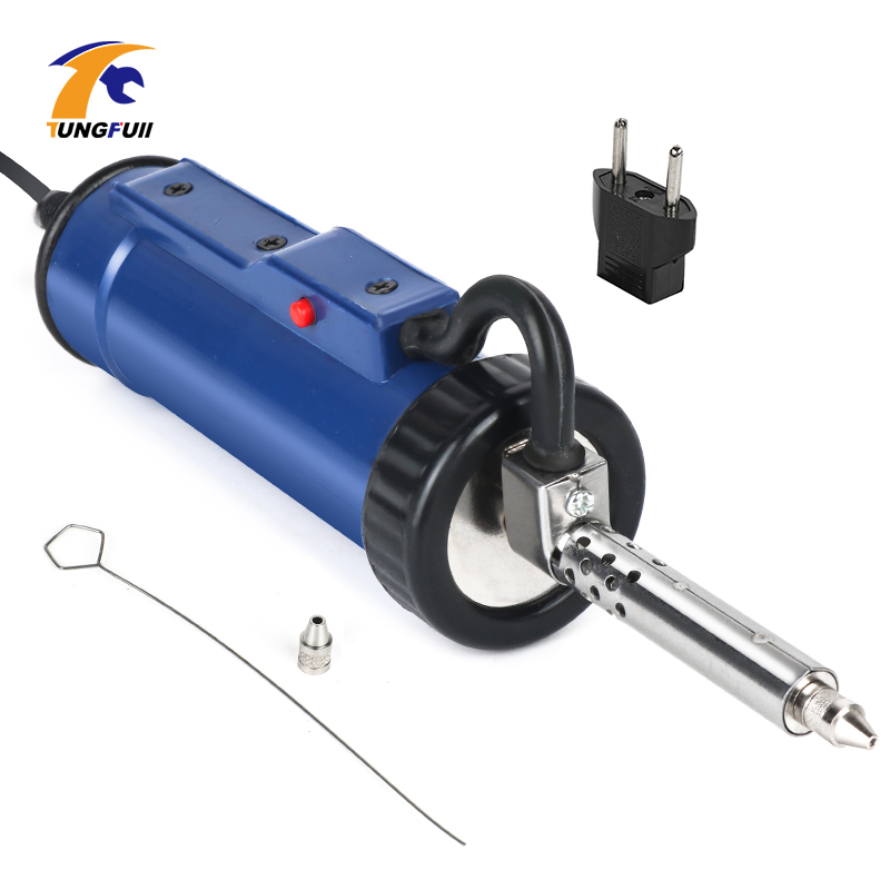 Electric Vacuum Solder Sucker Welding Desoldering Pump Soldering Iron Gun Soldering Gun Nozzle For Circuit Board 30W 220V 50Hz
