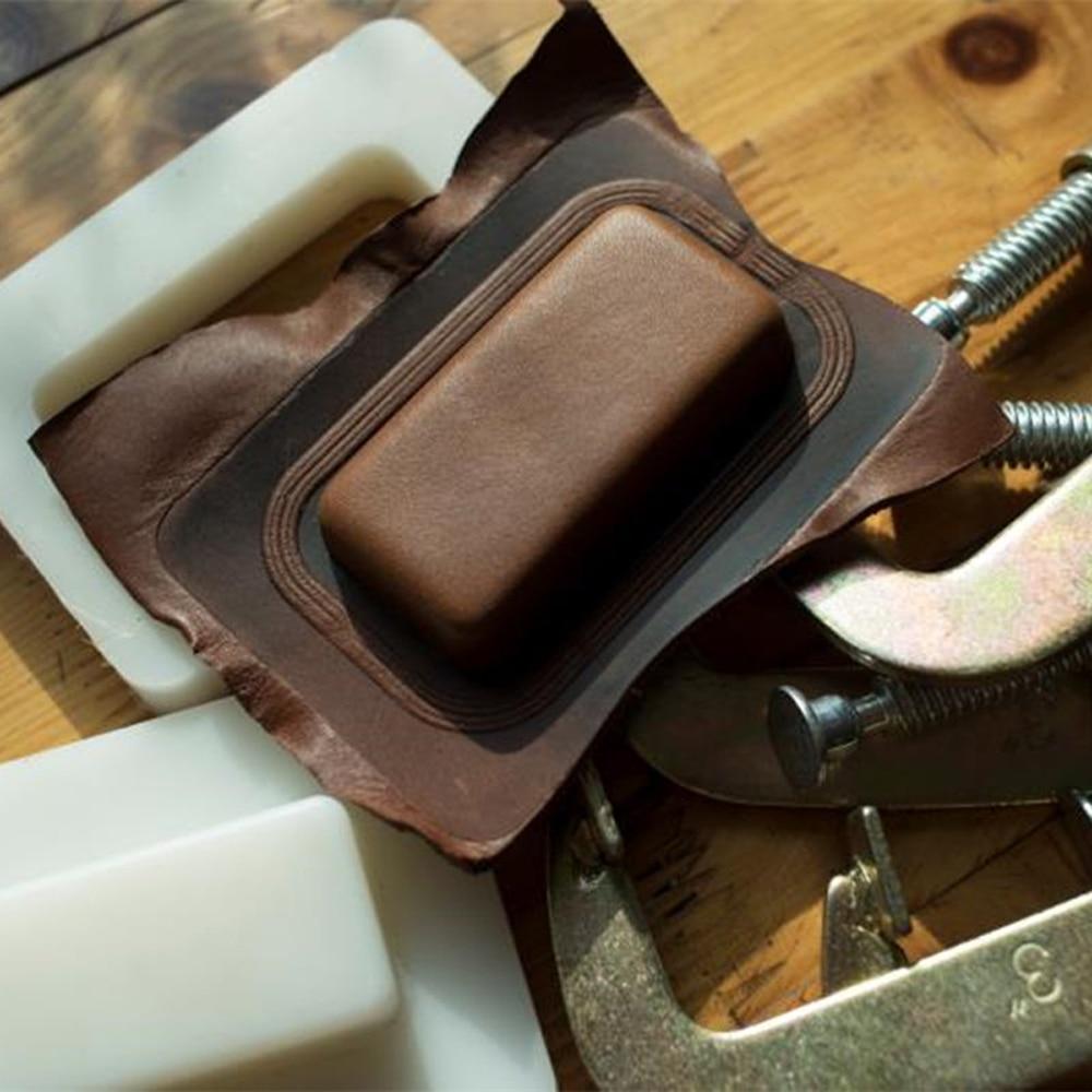 leather craft tools fire lighter bag shape modeling fixed plastic mould template set deri el aletleri