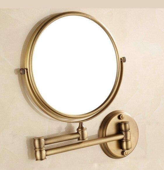Specchio Ingranditore Per Bagno.Us 46 11 13 Di Sconto Antico Pieghevole Bagno Trucco Faccia Specchio Ingranditore A Scomparsa Pieghevole Specchio Di Bellezza In Specchi Da Bagno Da