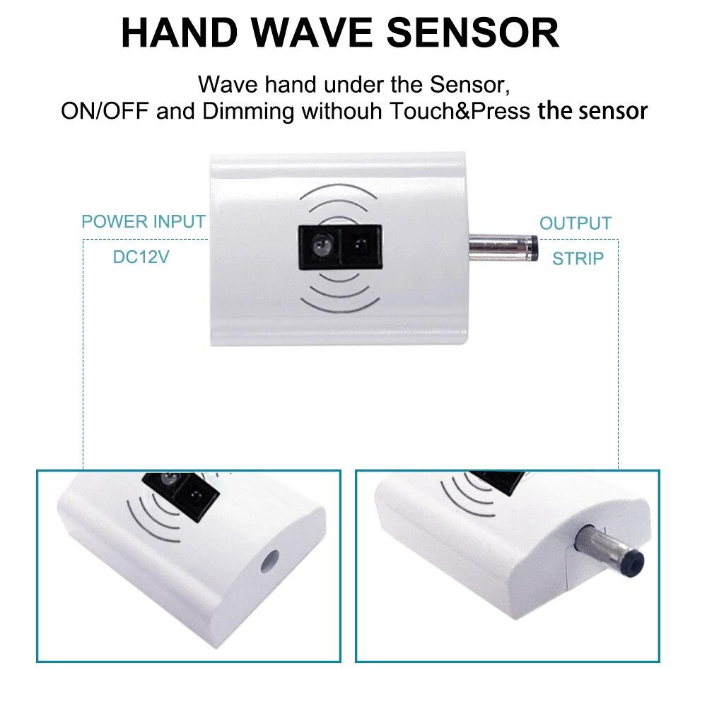 Dimmbare Hand Welle Sensor Streifen 1,5 Mt 12 V IP65 Wasserdichte ...