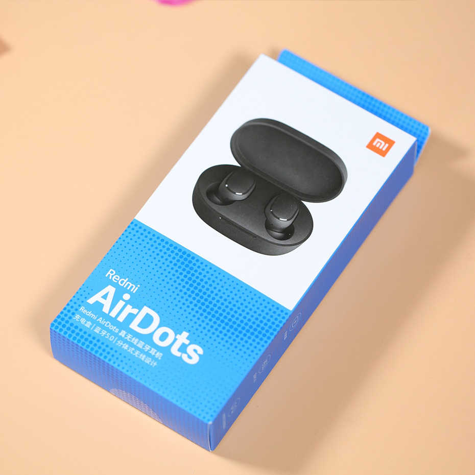 Instock Xiaomi Redmi Airdots Xiaomi Draadloze Oortelefoon Voice control Bluetooth 5.0 Ruisonderdrukking Tap Controle