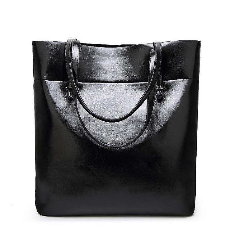 купить Genuine leather bags Ms Real leather Handbags Large Shoulder bags Women Tote shoulder bag women messenger tote Bolsas femininas по цене 1888.9 рублей