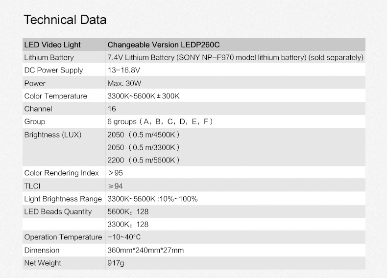 Products_Continuous_LEDP260_Video_Light_08