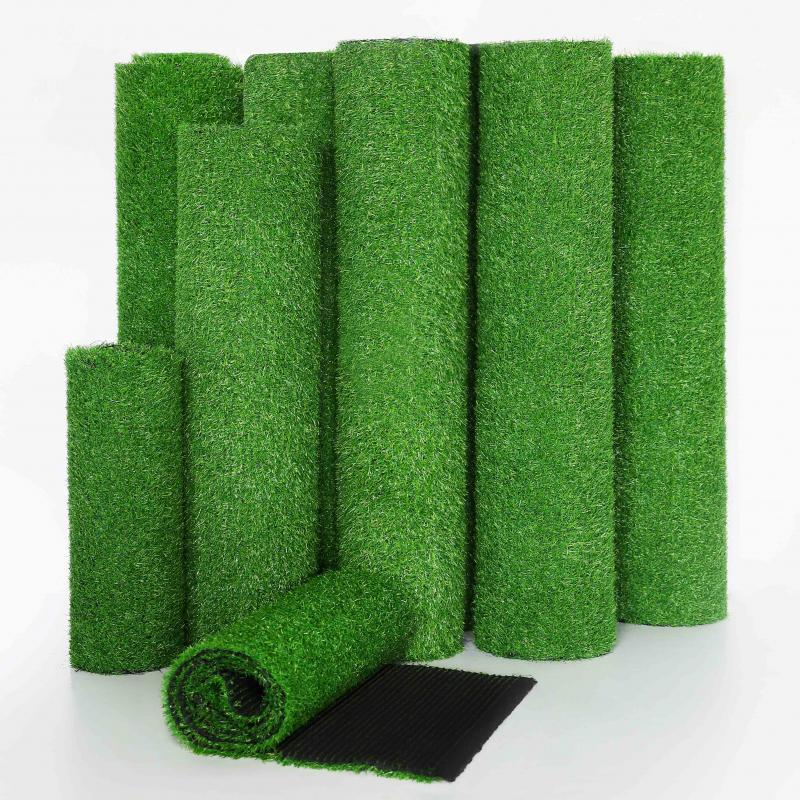 1MX1 / 1.5 / 2M Micro Landscape Artificial Turf Carpet Real Touch Fake Moss Artificial Floor Booth Decoration Mat Wedding Model