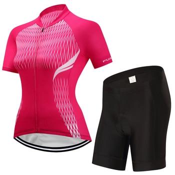 2017 Respirável Ciclismo Jersey Define As Mulheres Verão Esporte Bicicleta Ciclismo Roupas Quick Dry mtb Bicicleta Jersey Roupas Ropa