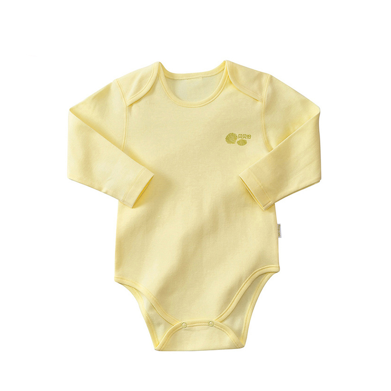 Bornbay Newborn baby clothes cotton long sleeve rompers girl clothes baby boy girl triangle rompers jumpsuit for infant clothes