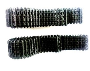 Heng длинные 3818 3819 пластиковые треки для 1:16 1/16 rc 3818-1 3819-1 Германия Тигр 1 модель бака, части бака Бесплатная доставка