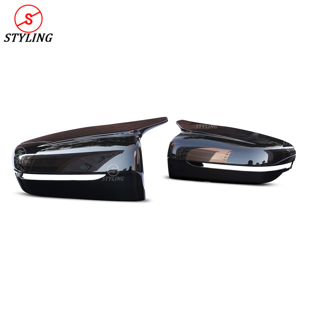 G11 G12 ABS Mirror cover For BMW 5 Series G30 G38 G32 GT Plastic Rear side