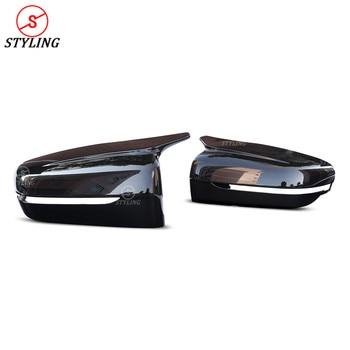 G11 G12 ABS Cermin Menutupi Di untuk BMW 5 Series G30 G38 G32 GT Belakang Plastik Samping Topi Cermin Penutup M Terlihat LHD 2017 2018 2019