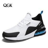 QGK/Мужская модная повседневная обувь; кроссовки; Мужская обувь; Chaussures Pour Hommes; дышащие высококачественные кроссовки для взрослых; большие раз...