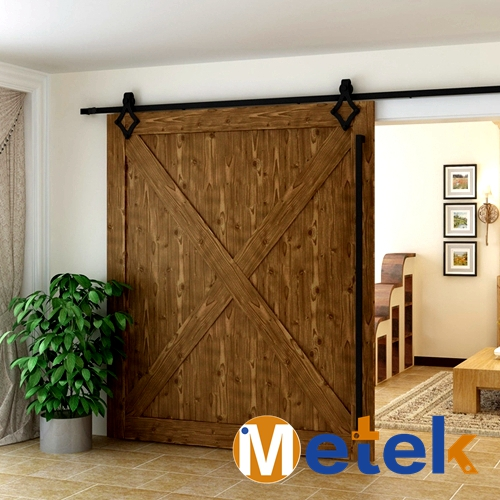 metek granero modern interior de madera maciza puerta corredera de