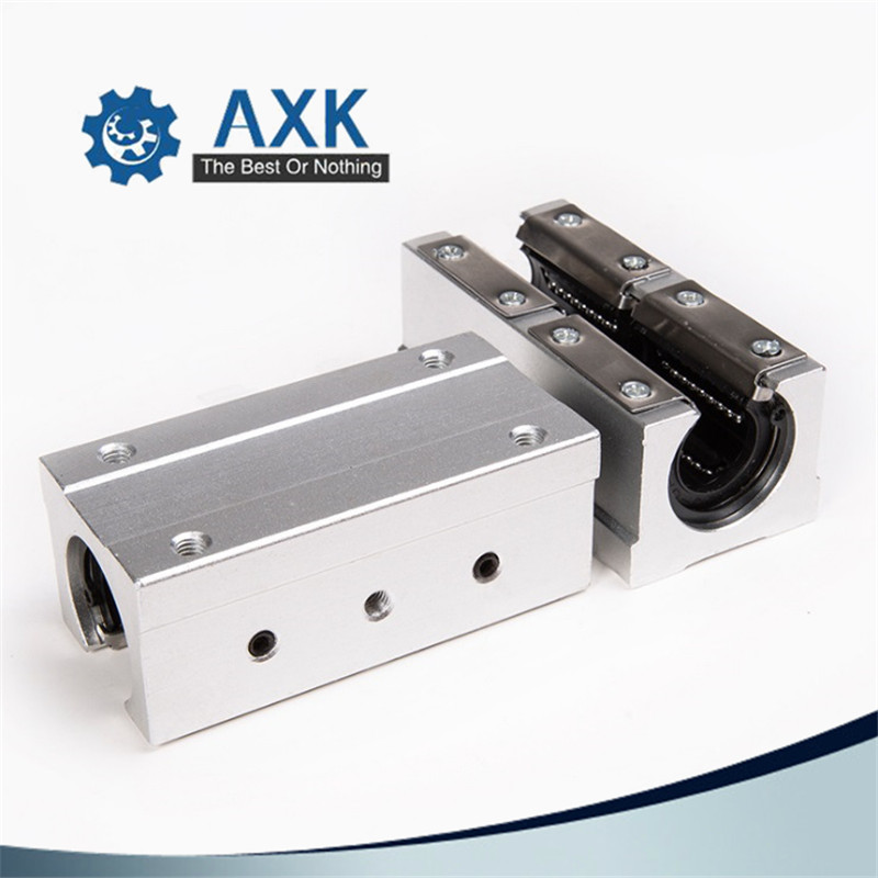 Image 3 - 2pcs/lot Free shipping SBR16LUU 16mm Linear Ball Bearing Block CNC Router-in Linear Guides from Home Improvement