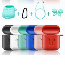 Get more info on the Earphone Accessories Silicone Skin Case For Apple Airpods Proof Protector Cover Storage Case Pouch Anti Lost True Wireless