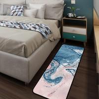 Mordern Quicksand Blue Pink Pattern Carpet For Living Room Bedroom Bay Window Kids Leisure Time Play Rugs Floor Pad