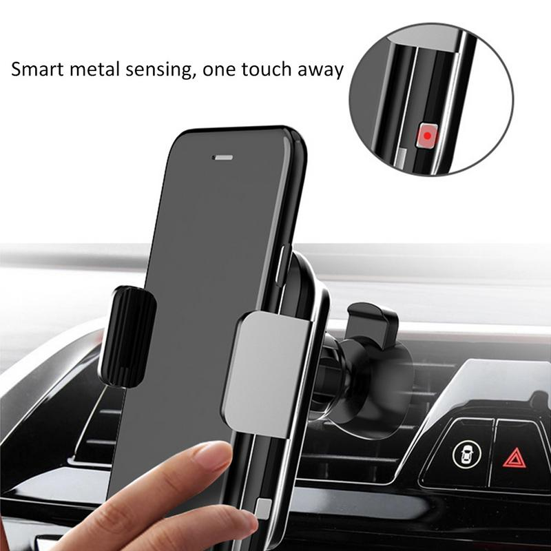 2019 New Qi Wireless Fast Charger Car Mount for iphone 8 plus X Samsung Galaxy S6 S7 S8 Plus Note 8 Cell Phone Car Holder Stand2019 New Qi Wireless Fast Charger Car Mount for iphone 8 plus X Samsung Galaxy S6 S7 S8 Plus Note 8 Cell Phone Car Holder Stand