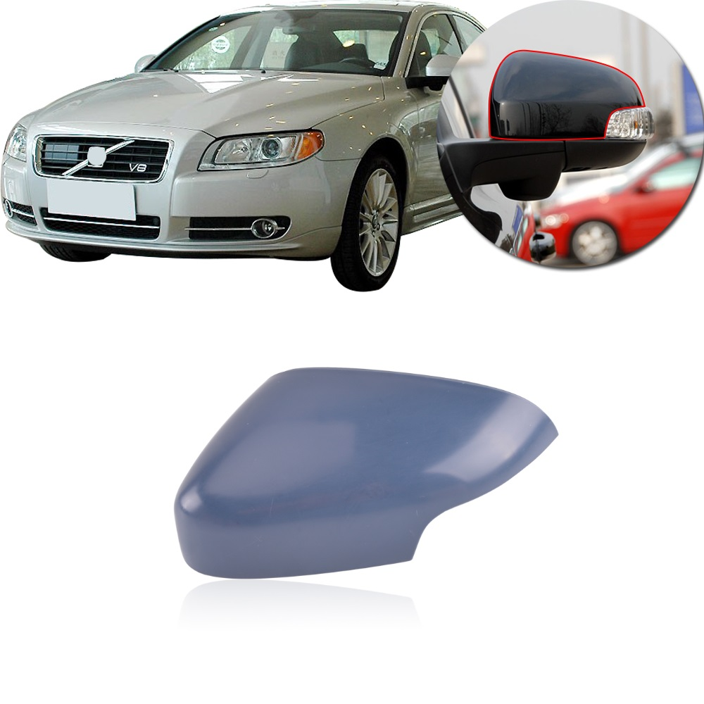 2008-2013 VOLVO C30 S80 V70 Driver Side Power Replacement Mirror Glass Heated S60 V50 C70 S40